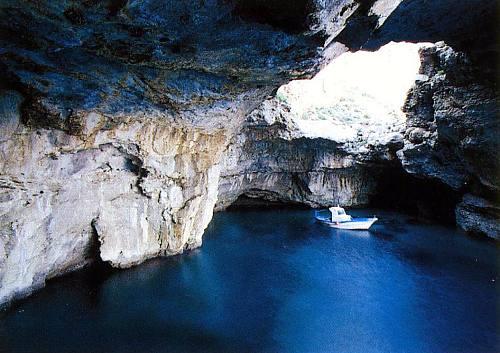 Marettimo grotta del cammello