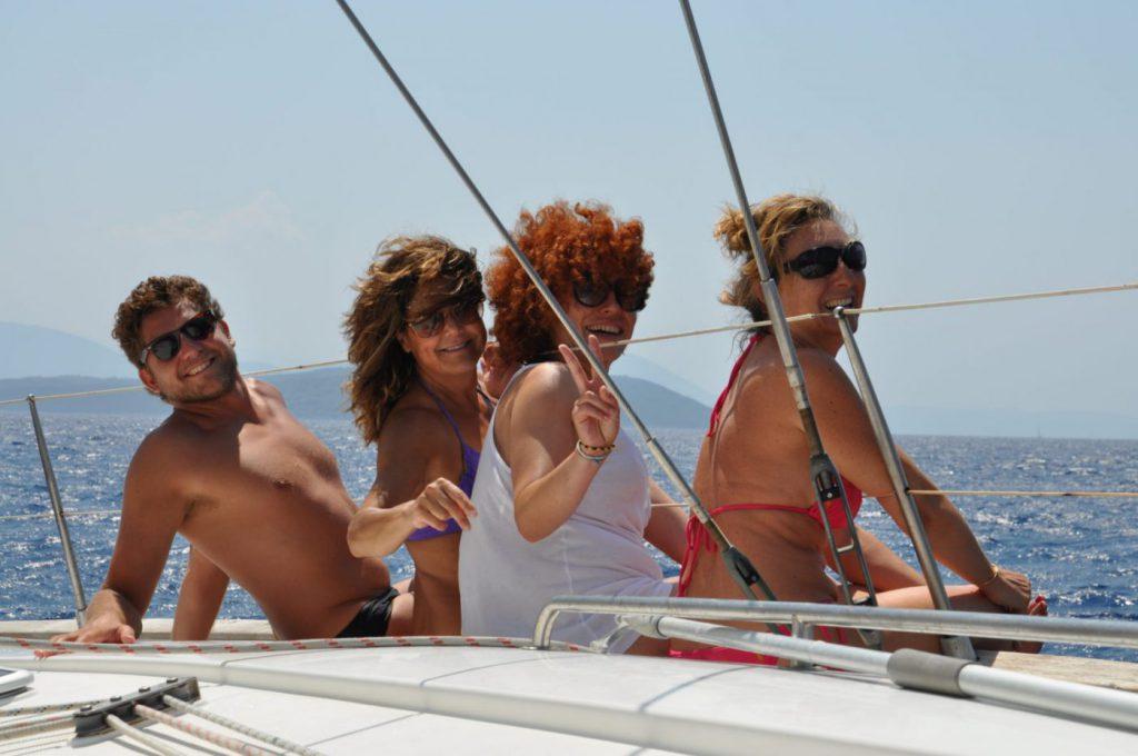 barca a vela in Grecia