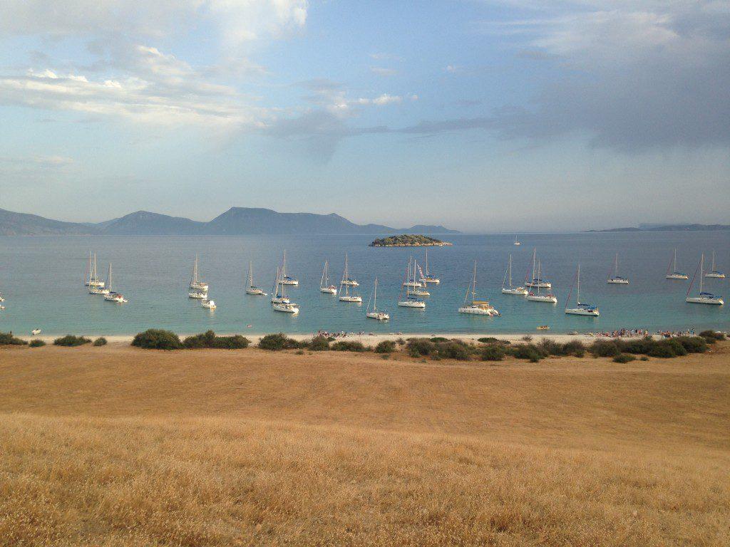 Grecia a vela in flottiglia