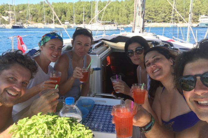 Grecia in barca a vela offerta Luglio